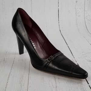 Ralph Lauren oxford pointed toe leather pumps 6.5